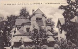 Pennsylvania Gettysburg The Blythe Tourist Home 204 Carlisle Street Artvue