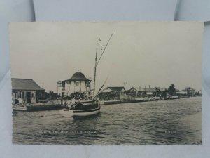 Vintage RP Postcard Dutch Touch Potter Heigham Norfolk Broads 1964