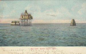 BOSTON HARBOR, Massachusetts, 1907; Bug Light, Lighthouse # 4