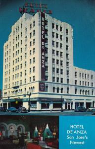 Hotel De Anza, Inside View, SAN JOSE, California, 40-60'