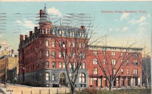 Hartford Connecticut~Heublein Hotel~1909 Postcard