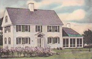 Michigan Dearborn Gov Oliver Wolcott House Handcolored Albertype