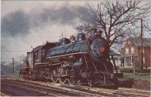 3309 Locomotive  Erie class K.1 Pacific  built by rogers in 1906