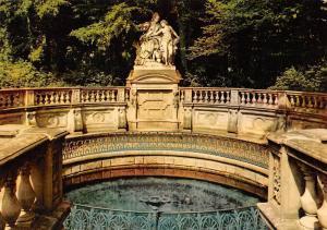 Donaueschingen im Schwarzwald, Donauquelle Statues