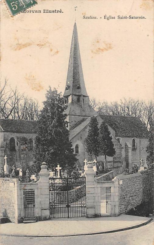 France Saulieu Eglise Saint Saturnin Church