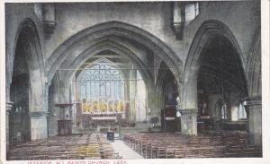 Leek , Staffordshire, England , 00-10s : Interior All Saints Church