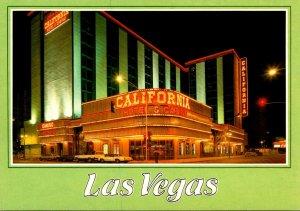 Nevada Las Vegas Sam Boyds California Hotel and Casino At Night