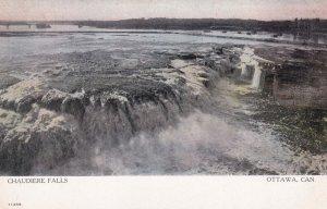 OTTAWA, Ontario, Canada, 1900-1910s; Chaudiere Falls
