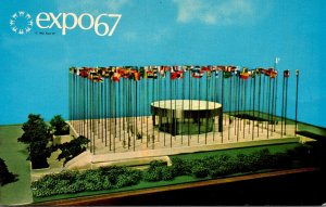 Canada Montreal Expo67 Pavilion Of The United Nations