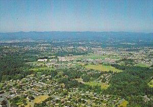 Canada University Of Victoria Aerial View Victoria British Columbia