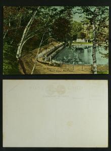 The Reservoir & Driveway Mount Royal Montreal c 1910
