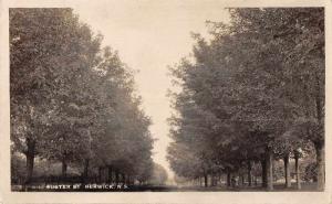 Berwick Nova Scotia Canada Foster Street Real Photo Antique Postcard J69559