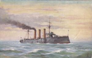 1900-1910's; H.M.S. Essey