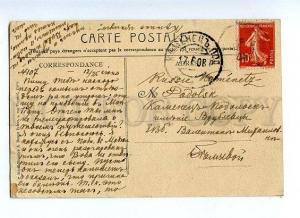 131571 FRANCE Chatilion-sur-Seine Source OLD RPPC to RUSSIA
