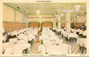 Florida Jacksonville Jenks Restaurant Curteich