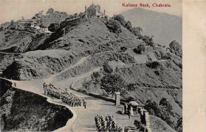 India Chakrata Kailana Neck Postcard