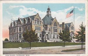High School, FAIRHAVEN, Massachusetts, PU-1938