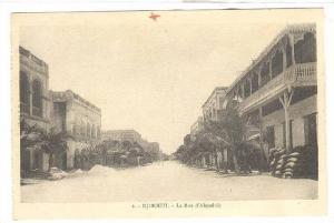 La Rue d Abysainie, Djibouti, Africa, 1900-1910s
