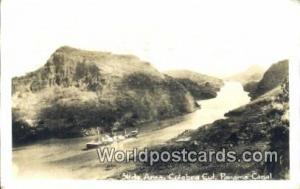 Panama Panama Canal Slide Area, Culebra Cut Real Photo