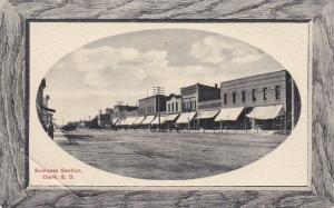 CLARK, South Dakota, 1900-1910´s; Business Section