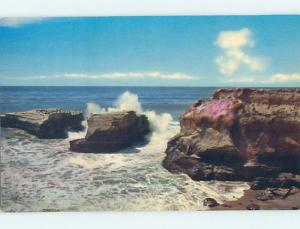 Unused Pre-1980 WATER SCENE Santa Cruz California CA hk2438@