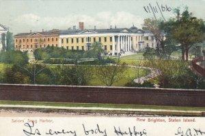NEW BRIGHTON, STATEN ISLAND , New York , 1906 ; Sailors Snug Harbor