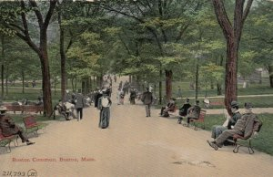 BOSTON, Massachusetts, 1900-1910s; Boston Common