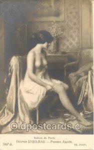 Artist Enjolras Nude, Nudes Postcard Postcards Unused