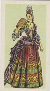 Brooke Bond Vintage Trade Card British Costume 1967 No 21 Lady's Formal Dress...