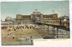 Gezicht Op Strand Kurhaus, Scheveningen (South Holland), Netherlands, 1900-1910s