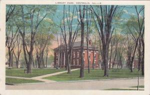 The Library Park, Centralia, Illinois,00-10s