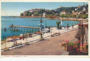 RAPALLO , Italy , 1910s ; Passeggiata a mare
