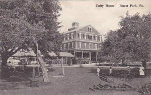 Pennsylvania Forest Park Unity House Albertype