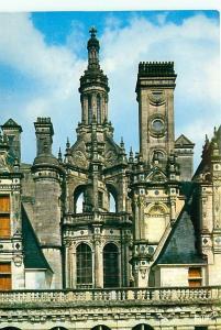 Postcard Merveilles Val loire Chambord Lanterne Italy Church Castle # 3652A