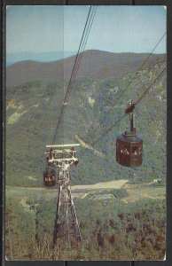New Hampshire, Franconia Notch - Cannon Mountain Aerial Tramway - [NH-196]