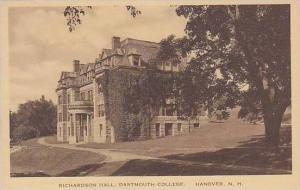 New Hampshire Hanover Richardson Hall Dartmouth College Albertype