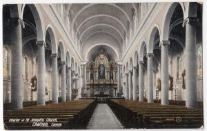 Canada; Interior Of St John's Church. Chatham PPC, Unposted, By Valentines