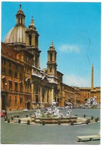 Italy. Rome.  Navona Square. 1969