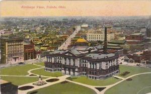 Ohio Toledo Birdseye View 1912