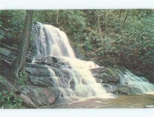 Pre-1980 SMOKY MOUNTAINS Laurel Falls In Sevierville by Gatlinburg TN E4534