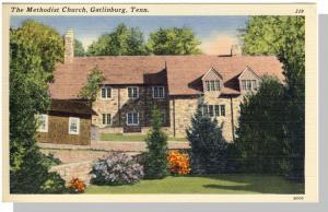 Gatlinburg, Tennessee/TN Postcard,Methodist Church,Nr Mint!