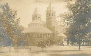RPPC  ANN ARBOR, MI   University of Michigan  LIBRARY   ca 1907-1909   Postcard