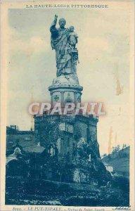 Old Postcard Le Puy Haute Loire Espaly Picturesque