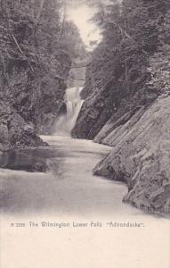 New York Adrondacks The Wilmington Lower Falls