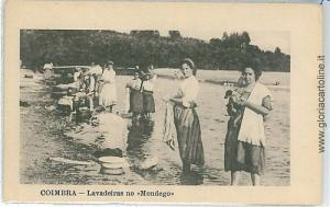 ETHNIC: VINTAGE POSTCARD PORTUGAL  - COIMBRA