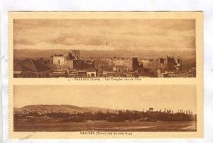 BAALBEK (Syrie), now Lebanon, 1910-30s ;  Town & ruins
