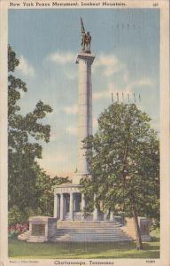 Tennessee Chattanooga New York Peace Monument 1939