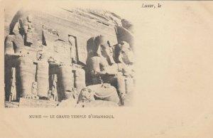 LUXOR , EGYPT , 1901-07 : Nubie - Le Grand Temple D'Ibsamboul
