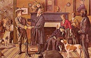 Leaving home by Gilbert Gaul USA Civil War Unused