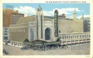 New Minnesota Theater Minneapolis, MI, USA Unused